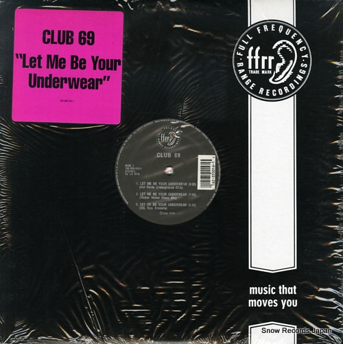CLUB 69 let me be your underwear 162-350-016-1 - front cover
