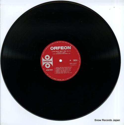 LOS HERMANOS MARTINEZ GIL chacha linda UPS-163-F - disc