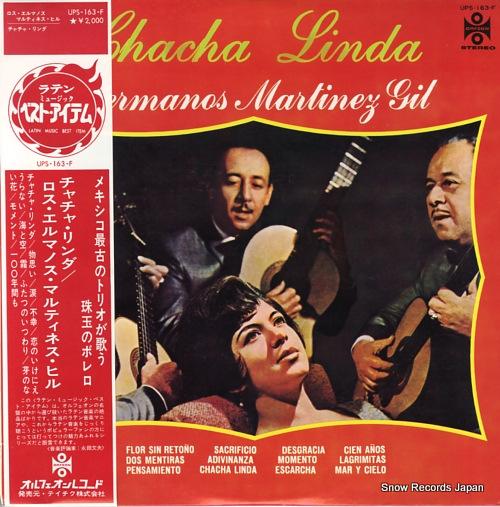 LOS HERMANOS MARTINEZ GIL chacha linda UPS-163-F - front cover