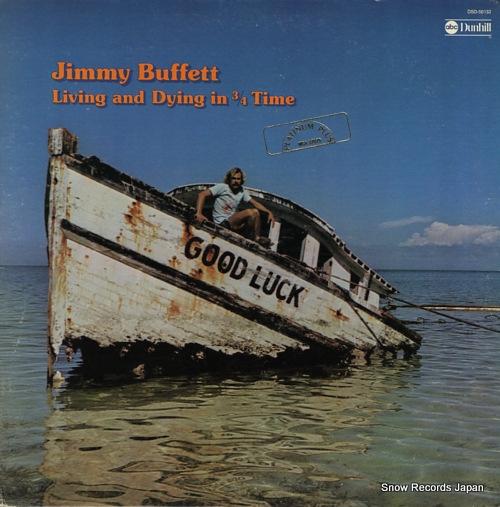 ジミー・バフェット living and dying in 3/4 time MCA-37025