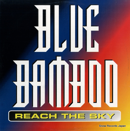 BLUE BAMBOO reach the sky WL044 - front cover