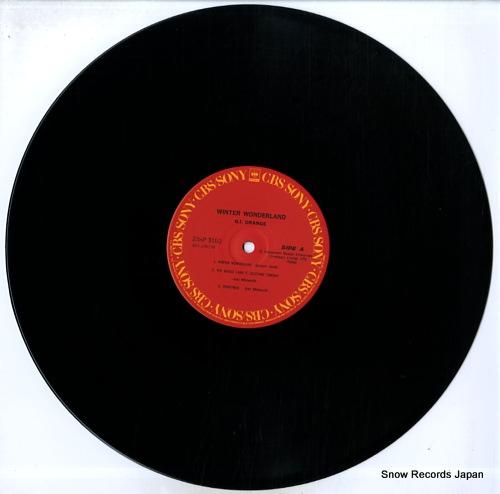 G.I. ORANGE winter wonderland 23AP3100 - disc