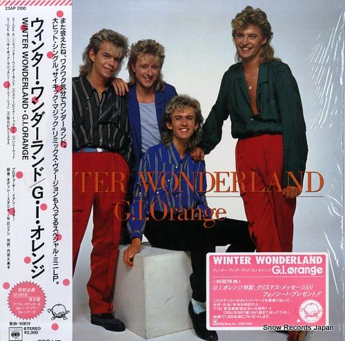 G.I. ORANGE winter wonderland 23AP3100 - front cover