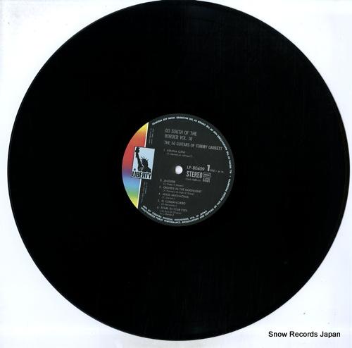 GARRETT, TOMMY go south of the border vol. 3 LP-80409 - disc