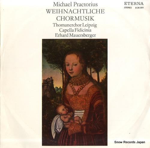 V/A praetorius; weihnachtliche chormusik 826091 - front cover