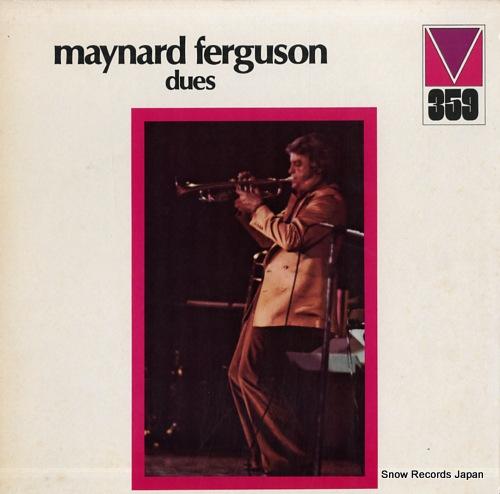 FERGUSON, MAYNARD dues MRL359 - front cover