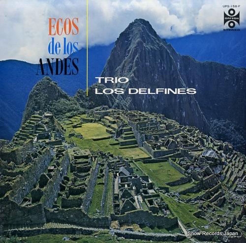 TRIO LOS DELFINES ecos de los andes UPS-158-F - front cover