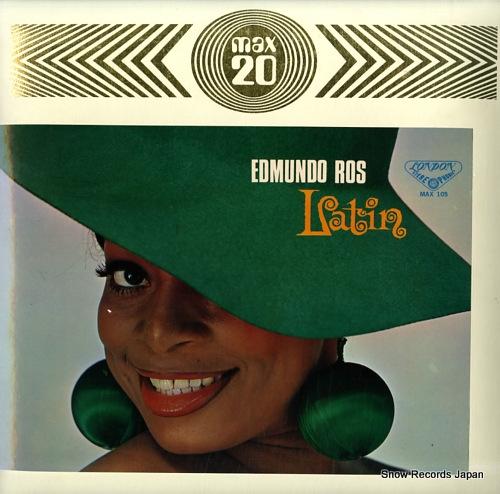 ROS, EDMUNDO latin max 20 MAX-105 - front cover