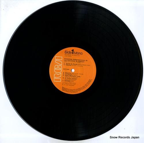 V/A autenticas interpretaciones de los canciones de siempre RA-5616 - disc