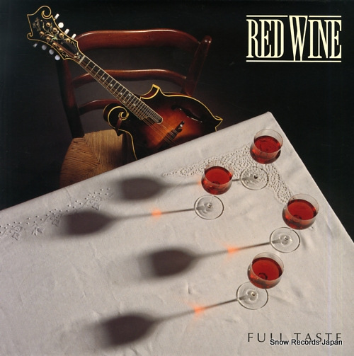 RED WINE full taste RW002 - front cover