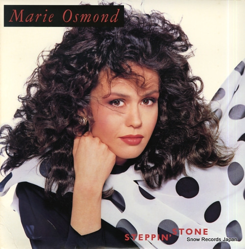 OSMOND, MARIE steppin' stone C1-91781 - front cover