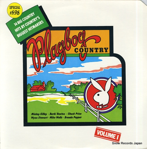 V/A playboy country volume 1 PB-129 - front cover