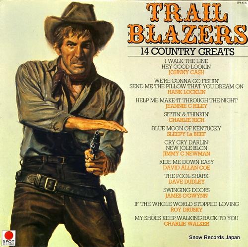 V/A trail blazers SPR8525 - front cover