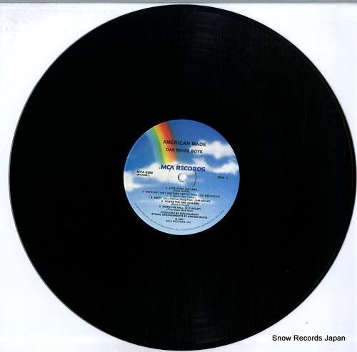 OAK RIDGE BOYS, THE american made MCA-5390 - disc