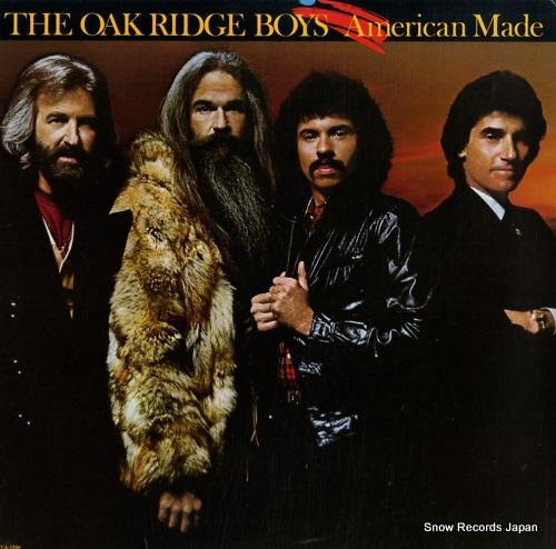 OAK RIDGE BOYS, THE american made MCA-5390 - front cover