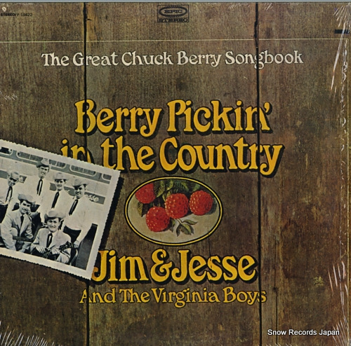 JIM AND JESSE AND THE VIRGINIA BOYS berry pickin' in the country P18422 - front cover