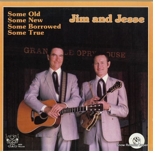 JIM AND JESSE some old, some new, some borrowed, some true MSR-LPS-19861 - front cover