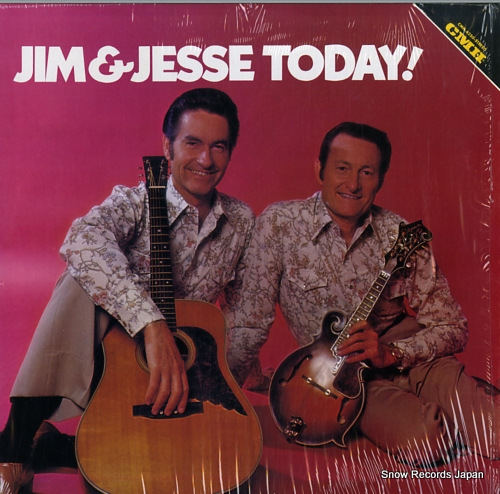 JIM AND JESSE jim & jesse today! CMH-6250 - front cover
