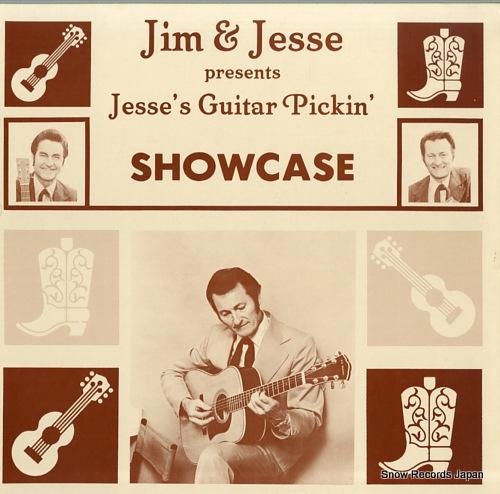 JIM AND JESSE presents jesse's guitar pickin' showcase DJ-1001 - front cover