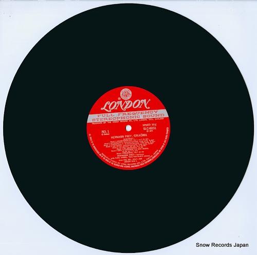 PREY, HERMANN erlkonig SLC6031 - disc