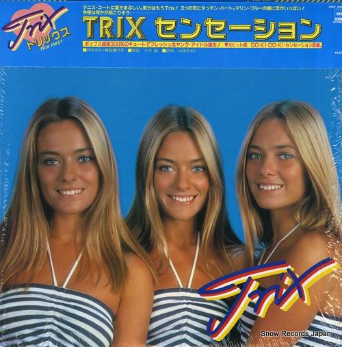 TRIX trix sensation - trix first 25AP2090 - front cover
