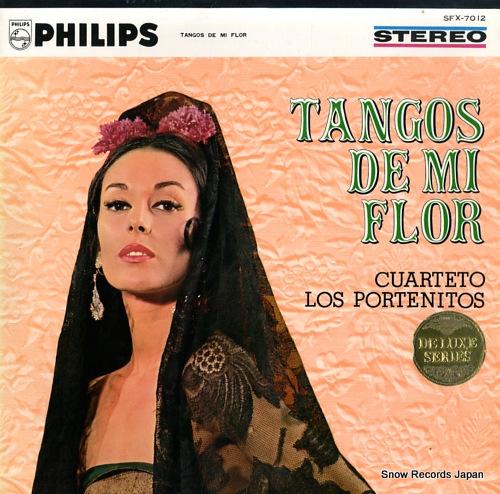 CUARTETO LOS PORTENITOS tangos de mi flor SFX-7012 - front cover