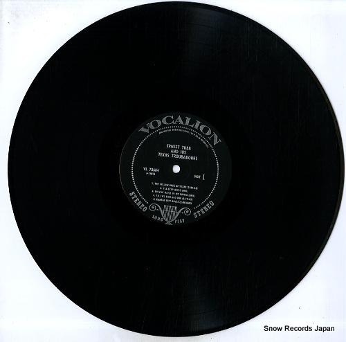 TUBB, ERNEST, AND HIS TEXAS TROUBADOURS ernest tubb and his texas troubadours VL73684 - disc