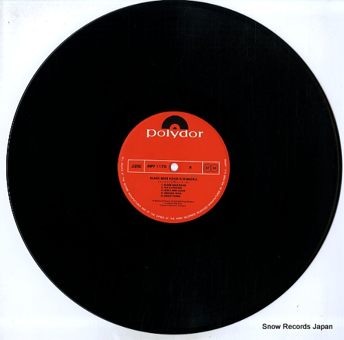 MCCALL, C.W. black bear road MPF1170 - disc