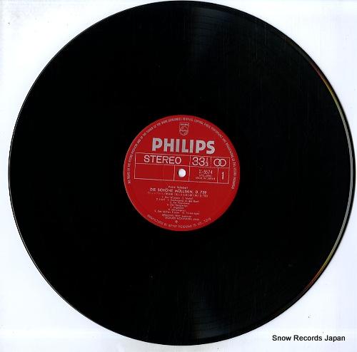 PREY, HERMANN schubert; die schone mullerin d.759 X-5574 - disc