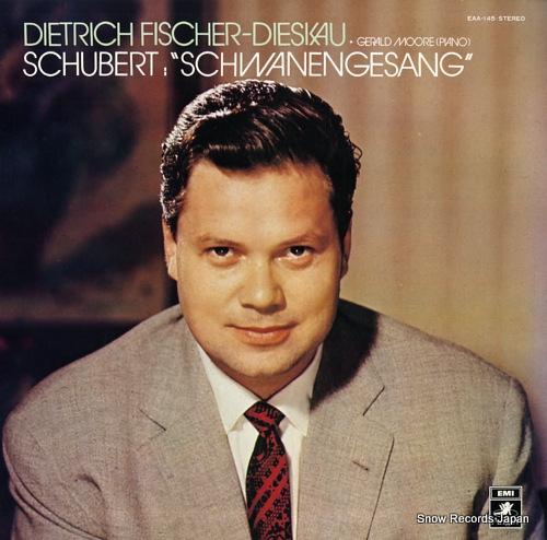 FISCHER-DIESKAU, DIETRICH schubert; schwanengesang d.957 EAA-145 - front cover