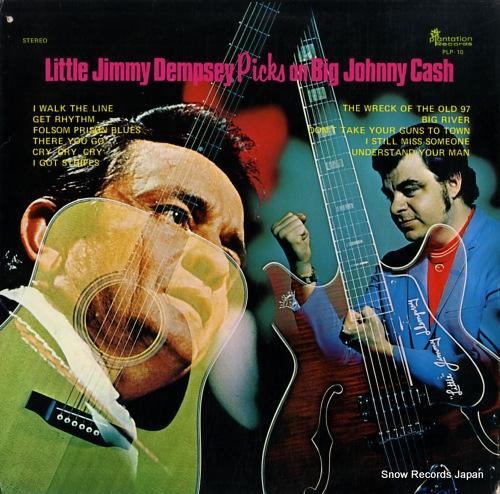 DEMPSEY, LITTLE JIMMY little jimmy dempsey picks on big johnny cash PLP-10 - front cover