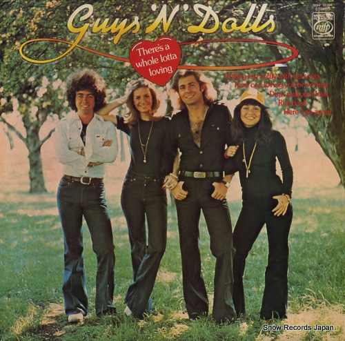 GUYS 'N' DOLLS there's a whole lotta loving MFP50394 - front cover