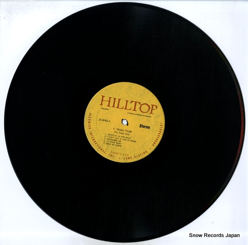 TYLER, T. TEXAS his great hits JS-6042 - disc