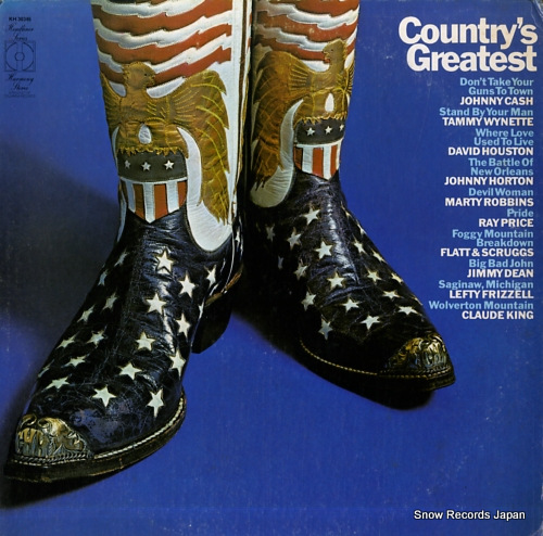 V/A country's greatest KH30346 - front cover