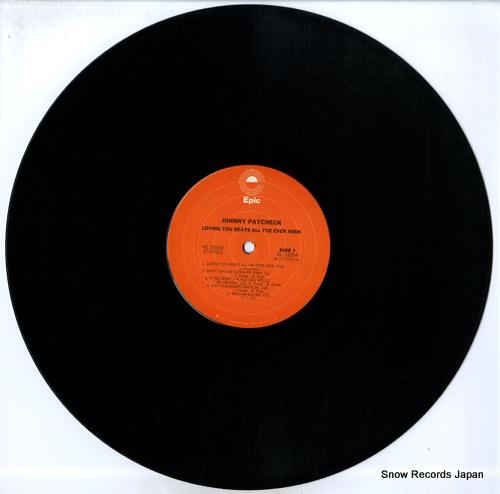 PAYCHECK, JOHNNY loving you beats all i've ever seen KE33354 - disc