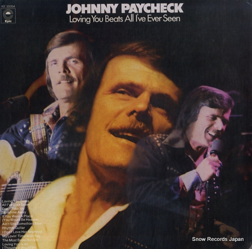 PAYCHECK, JOHNNY loving you beats all i've ever seen KE33354 - front cover