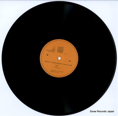 DEMUS, JORG mozart; klavierkonzerte a-dur kv488・c-dur kv467 ULS-3135-H - disc