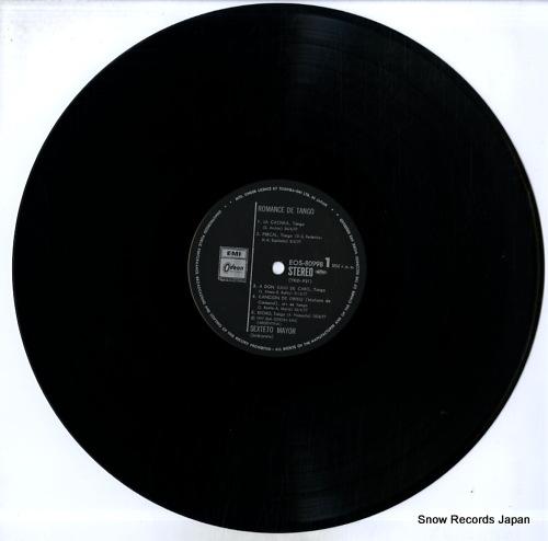 SEXTETO MAYOR romance de tango EOS-80998 - disc