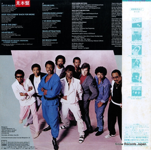 DAZZ BAND jukebox VIL-6147 - back cover