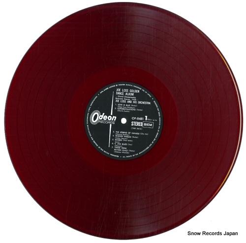 LOSS, JOE joe loss golden dance album OP-8481 - disc