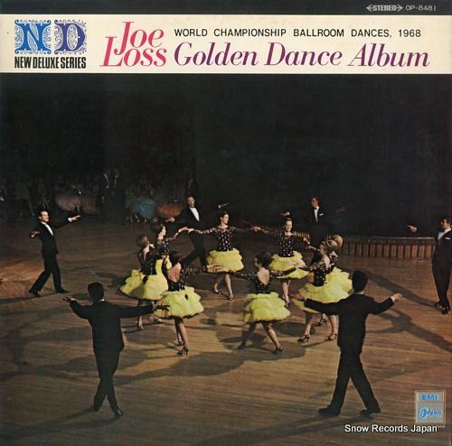 LOSS, JOE joe loss golden dance album OP-8481 - front cover