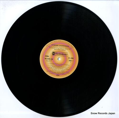 CROSSAN, JACK keyboard kaleidoscope OX-1080-AW - disc