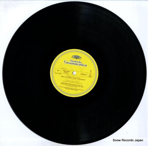 KUBELIK, RAFAEL mozart; coronation mass 15MG3029 - disc