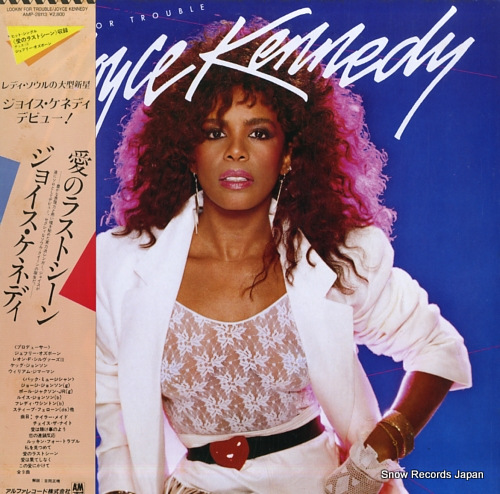 KENNEDY, JOYCE lookin' for trouble AMP-28113 - front cover