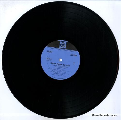 HATCH, TONY, ORCHESTRA, THE bossa nova de luxe XS-97-Y - disc
