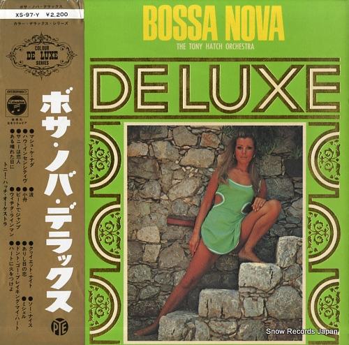 HATCH, TONY, ORCHESTRA, THE bossa nova de luxe XS-97-Y - front cover
