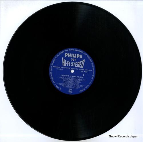V/A chansons de paris de luxe SFX-7007 - disc