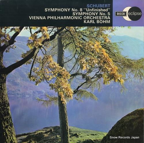 bohm karl schubert; symphony no.8 unfinished