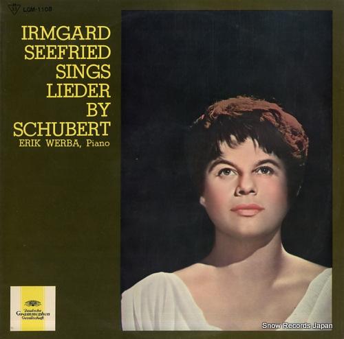 イルムガルト・ゼーフリート イルムガルト・ゼーフリートの歌うシューベルト歌曲集 LGM-1108