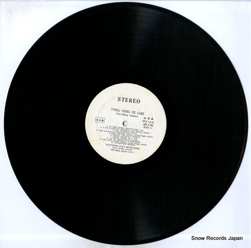 V/A tyrol yodel de luxe SR178 - disc